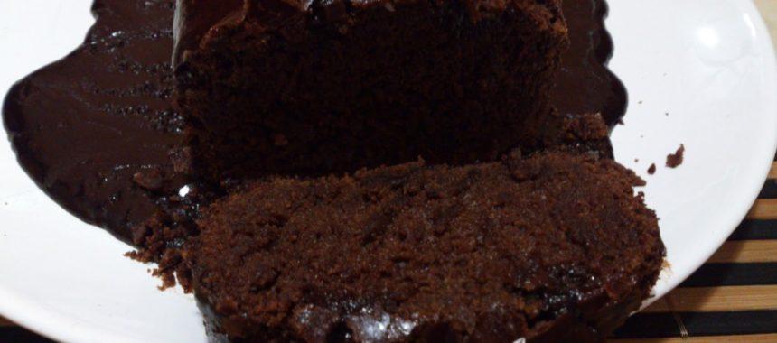 Bolo de Chocolate sem Ovos